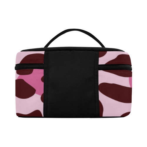 TEXTURE PINK Cosmetic Bag/Large (Model 1658)