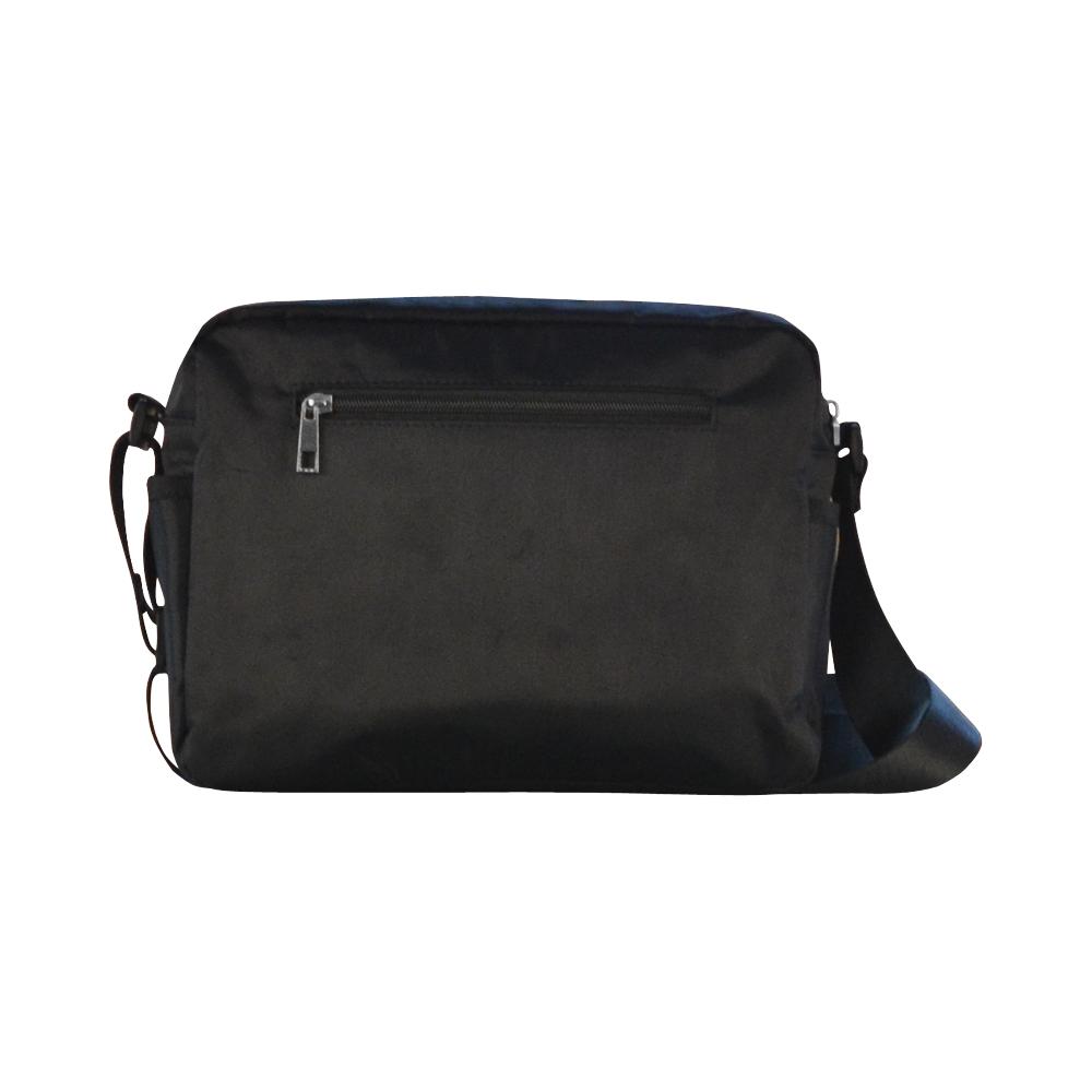 TEXTURE ART PINK Classic Cross-body Nylon Bags (Model 1632)