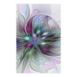 """Colorful Fantasy Abstract Modern Fractal Flower Poster 23""""x36"""""""