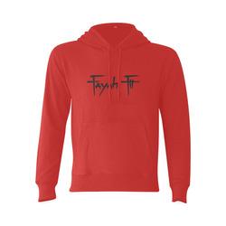 Fayah Fit Red Gildan Hoodie Sweatshirt (Model H03)