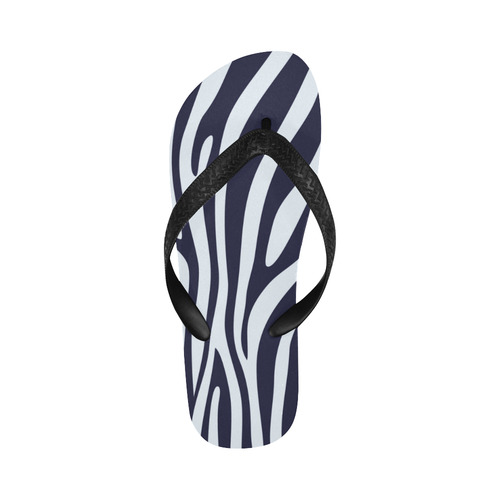ZEBRA TEXTURE Flip Flops for Men/Women (Model 040)