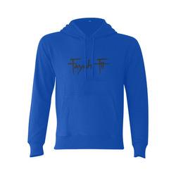 Fayah Fit Blue Gildan Hoodie Sweatshirt (Model H03)
