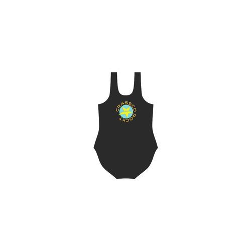 CRASSCO SWIM SUIT Vest One Piece Swimsuit (Model S04)