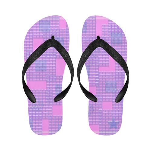 BUBBLEGUM PINK Flip Flops for Men/Women (Model 040)