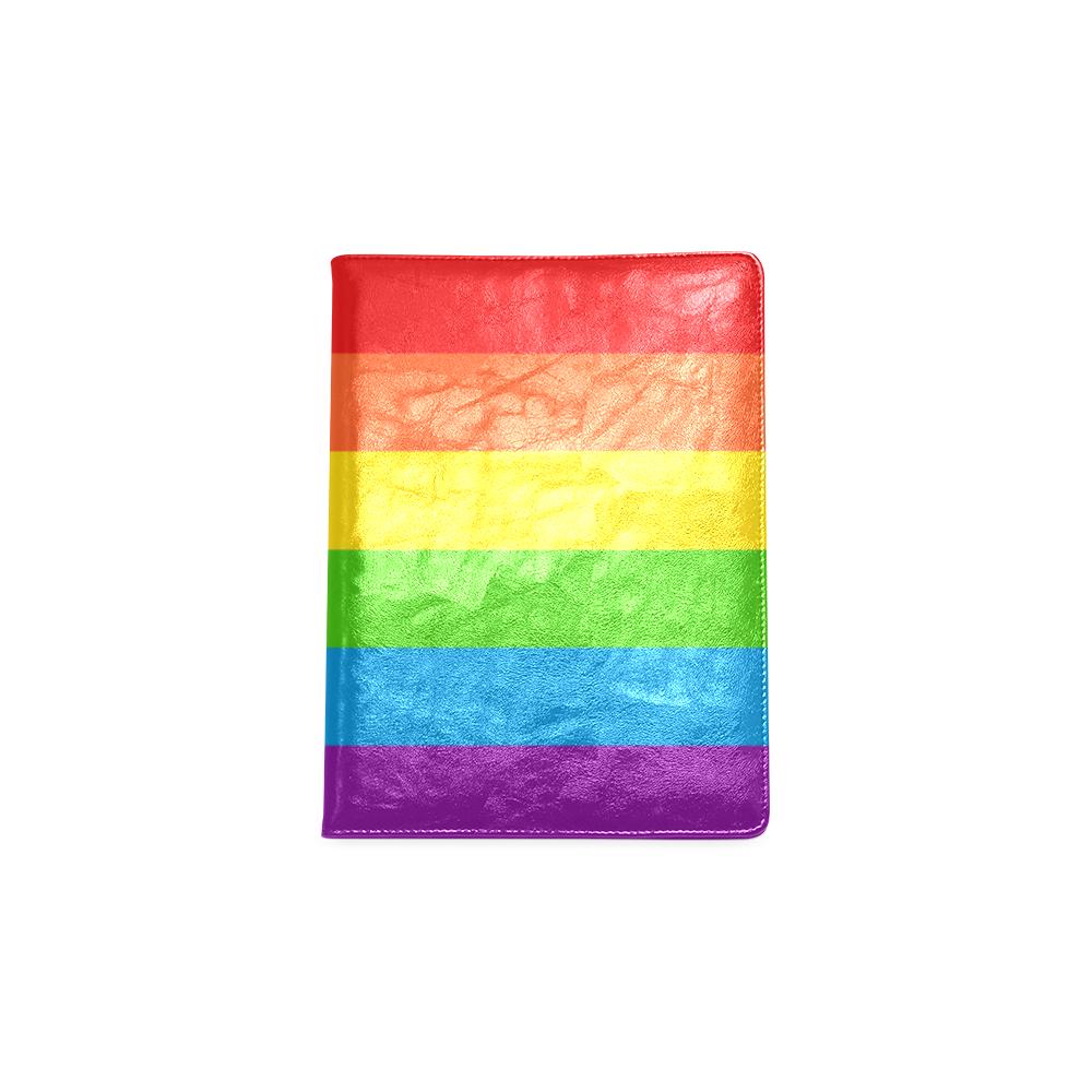 Rainbow Stripes Custom NoteBook B5