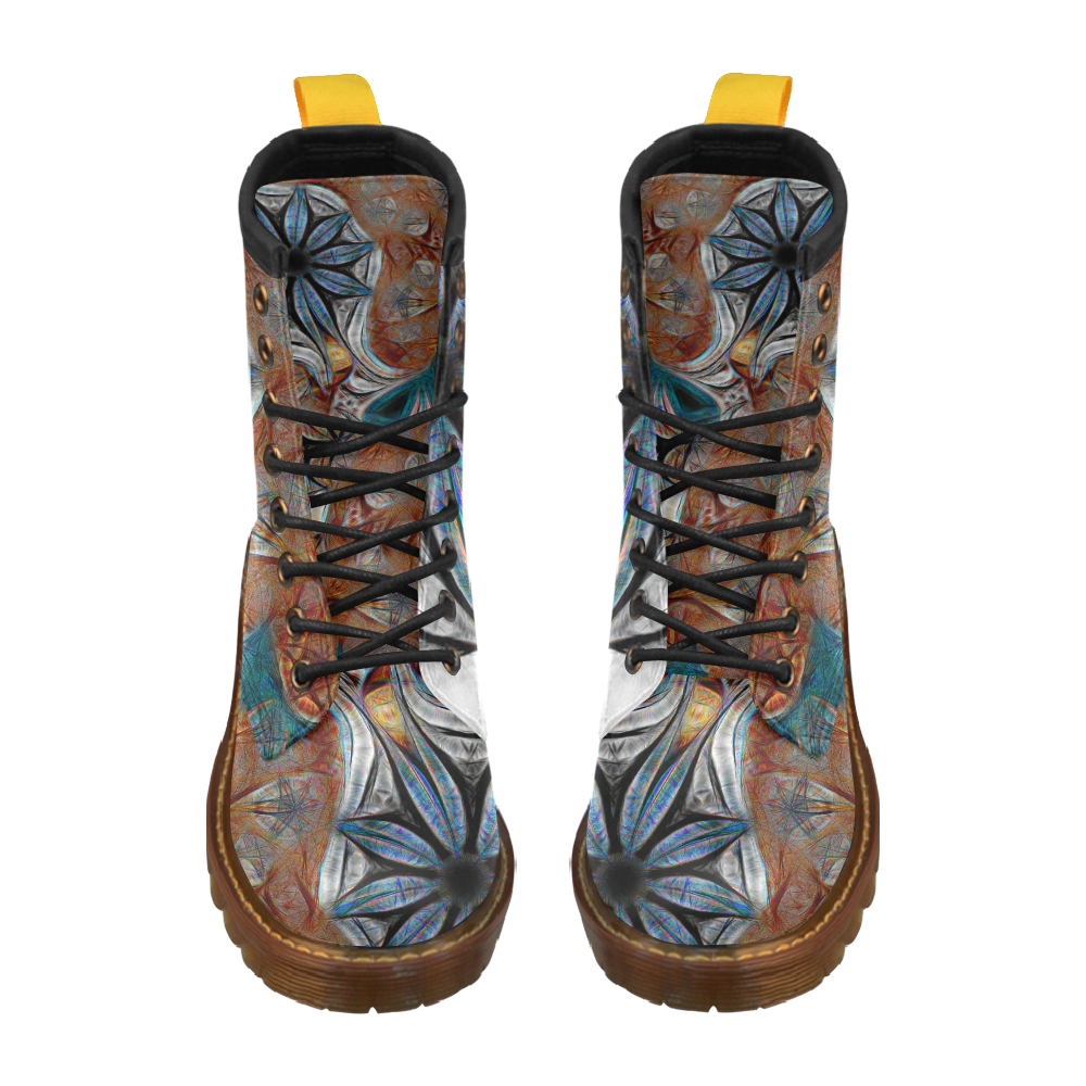 All Seasons High Grade PU Leather Martin Boots For Women Model 402H
