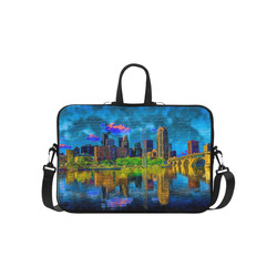 Two Sided Minneapolis Laptop Handbags 15""