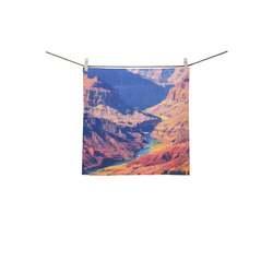 """mountain and desert at Grand Canyon national park, USA Square Towel 13""""x13"""""""