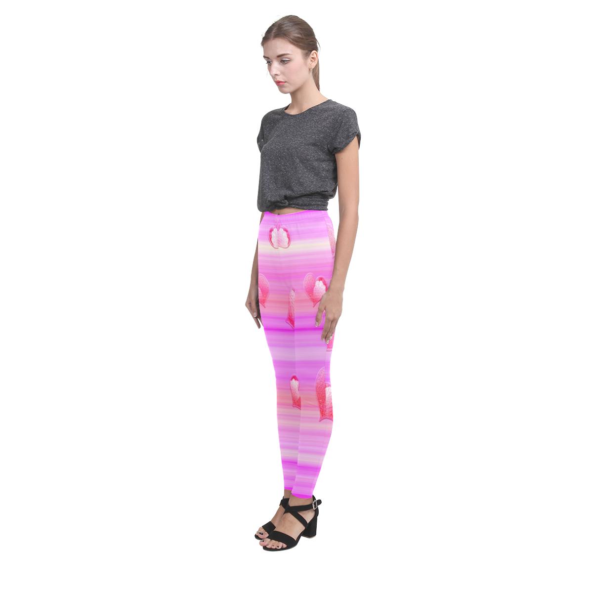 Falling Hearts Cassandra Women's Leggings (Model L01)
