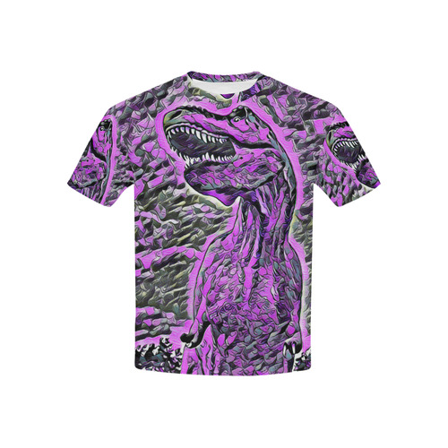 DINOSAURS TYRANNOSAURUS BY CRASSCO Kids' All Over Print T-shirt (USA Size) (Model T40)