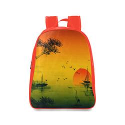 Sunset Orient Escape School Backpack/Large (Model 1601)