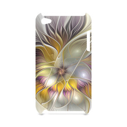 Abstract Colorful Fantasy Flower Modern Fractal Hard Case for iPod Touch 4