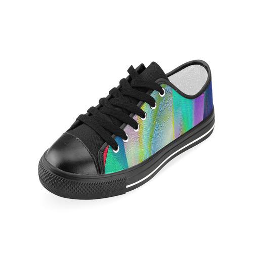 MULTICOLOR ART Women's Classic Canvas Shoes (Model 018)