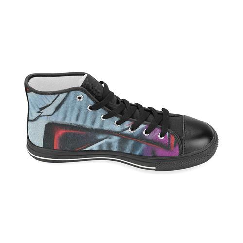 GRAFFITI Women's Classic High Top Canvas Shoes (Model 017)