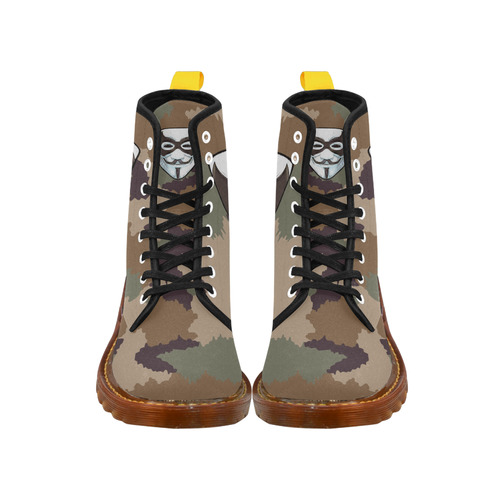 CAMOUFLAGE ANONYMOUS Martin Boots For Men Model 1203H