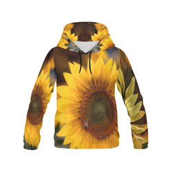 SNFLZR All Over Print Hoodie for Women (USA Size) (Model H13)