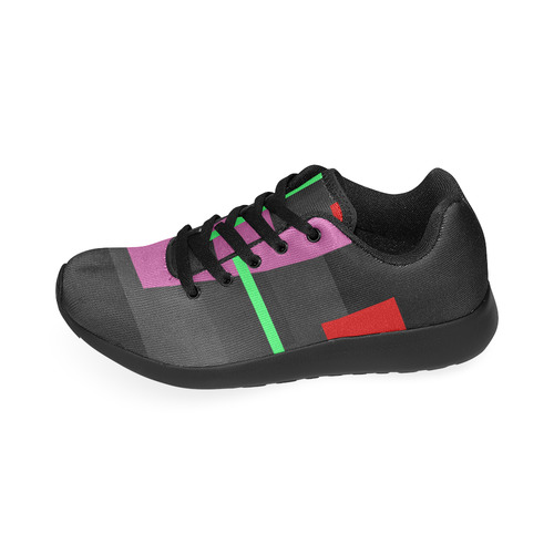 ABSTRACT COLORED Men's Running Shoes (Model 020)