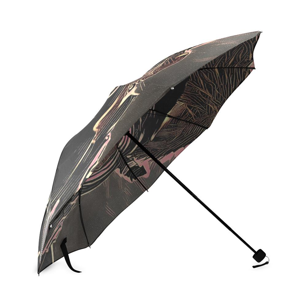 INFERNO MASK Foldable Umbrella (Model U01)