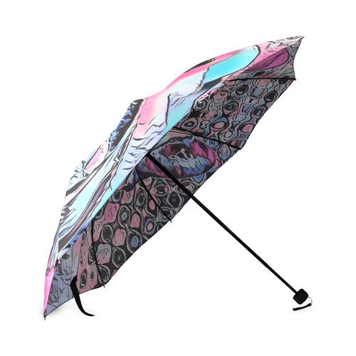 FRENCH BULLDOG Foldable Umbrella (Model U01)