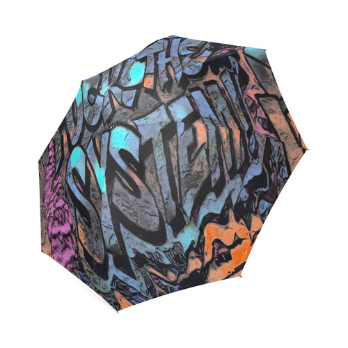 FUCKTHESYSTEM Foldable Umbrella (Model U01)
