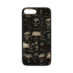 "Crypt of the devilish dead skull Rubber Case for iPhone 7 plus (5.5"")"