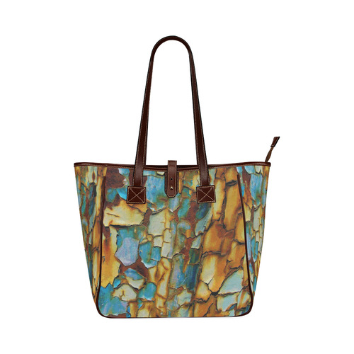 Rusty texture Classic Tote Bag (Model 1644)