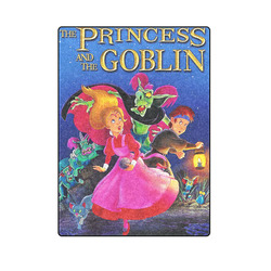 """The Princess and the Goblin Blanket 58""""x80"""""""