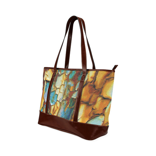 Rusty texture Tote Handbag (Model 1642)