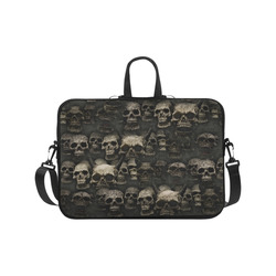 Crypt of the devilish dead skull Laptop Handbags 17""