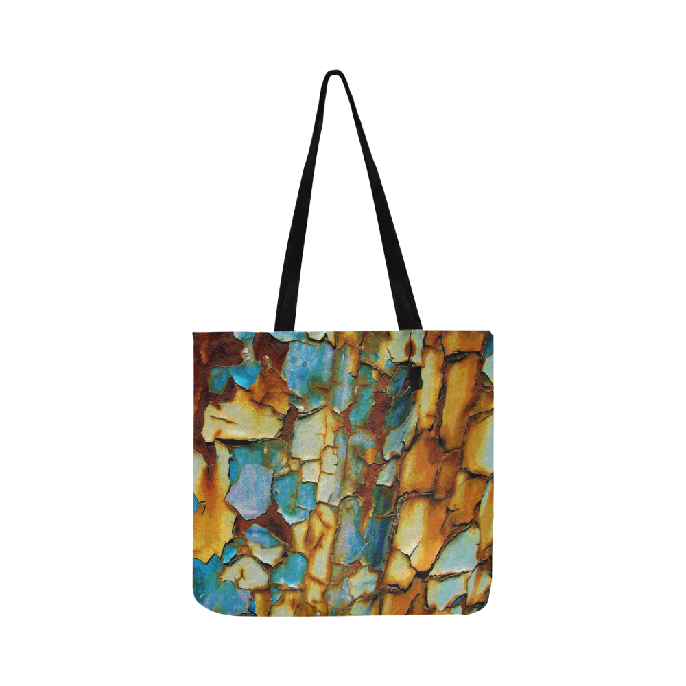 Rusty texture Reusable Shopping Bag Model 1660 (Two sides)