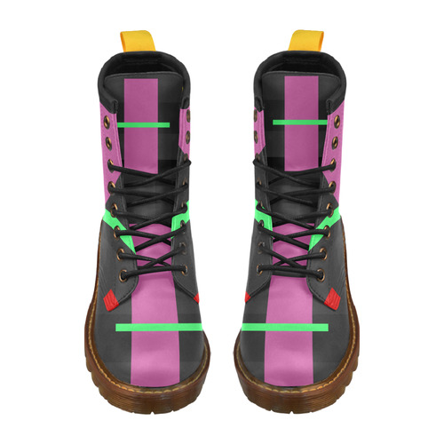 MISFIT High Grade PU Leather Martin Boots For Women Model 402H