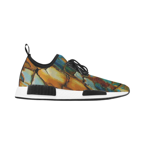 Rusty texture Women's Draco Running Shoes (Model 025)