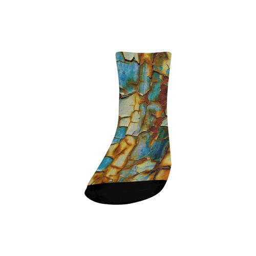 Rusty texture Quarter Socks