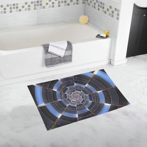 Midnight Crazy Dart Bath Rug 20''x 32''