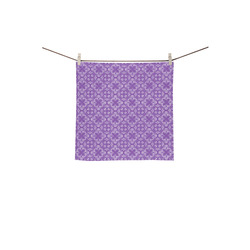 "Lilac Shadows Square Towel 13""x13"""