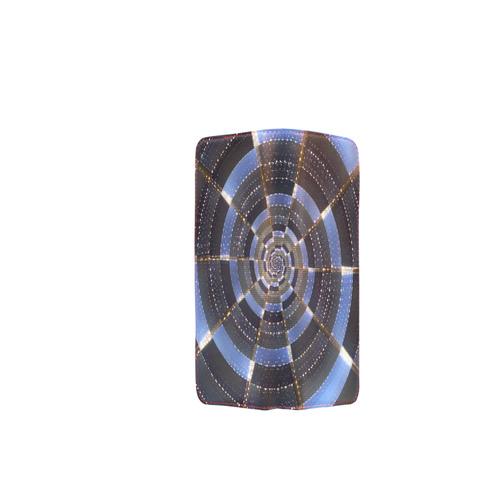 Midnight Crazy Dart Women's Clutch Wallet (Model 1637)