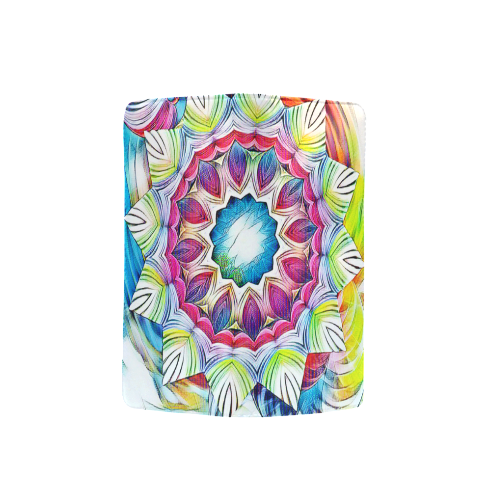 Sunshine Feeling Mandala Men's Clutch Purse (Model 1638)