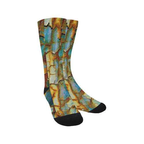 Rusty texture Trouser Socks