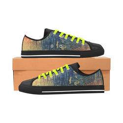 3 colors paint Aquila Microfiber Leather Women's Shoes (Model 028)