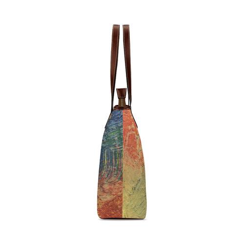 3 colors paint Shoulder Tote Bag (Model 1646)