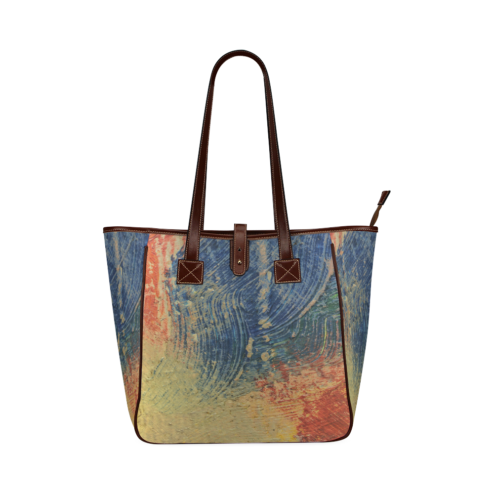 3 colors paint Classic Tote Bag (Model 1644)