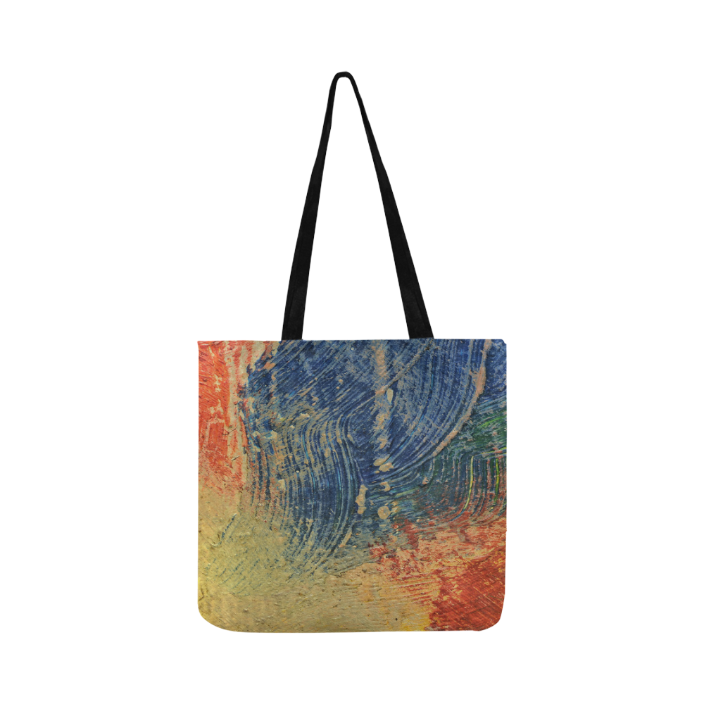3 colors paint Reusable Shopping Bag Model 1660 (Two sides)