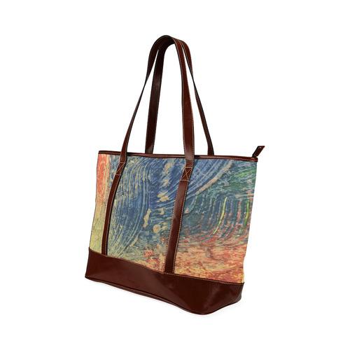 3 colors paint Tote Handbag (Model 1642)