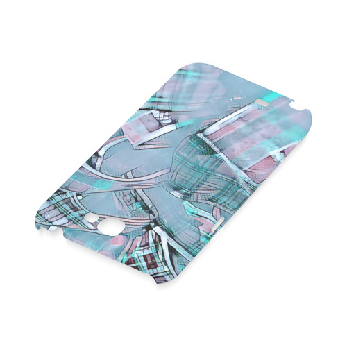 another modern moment, aqua by FeelGood Hard Case for Samsung Galaxy Note 2