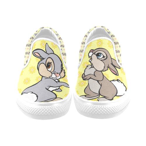Thumper Women's Unusual Slip-on Canvas Shoes (Model 019)