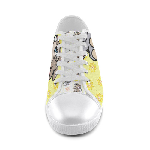 Thumper Canvas Shoes for Women/Large Size (Model 016)