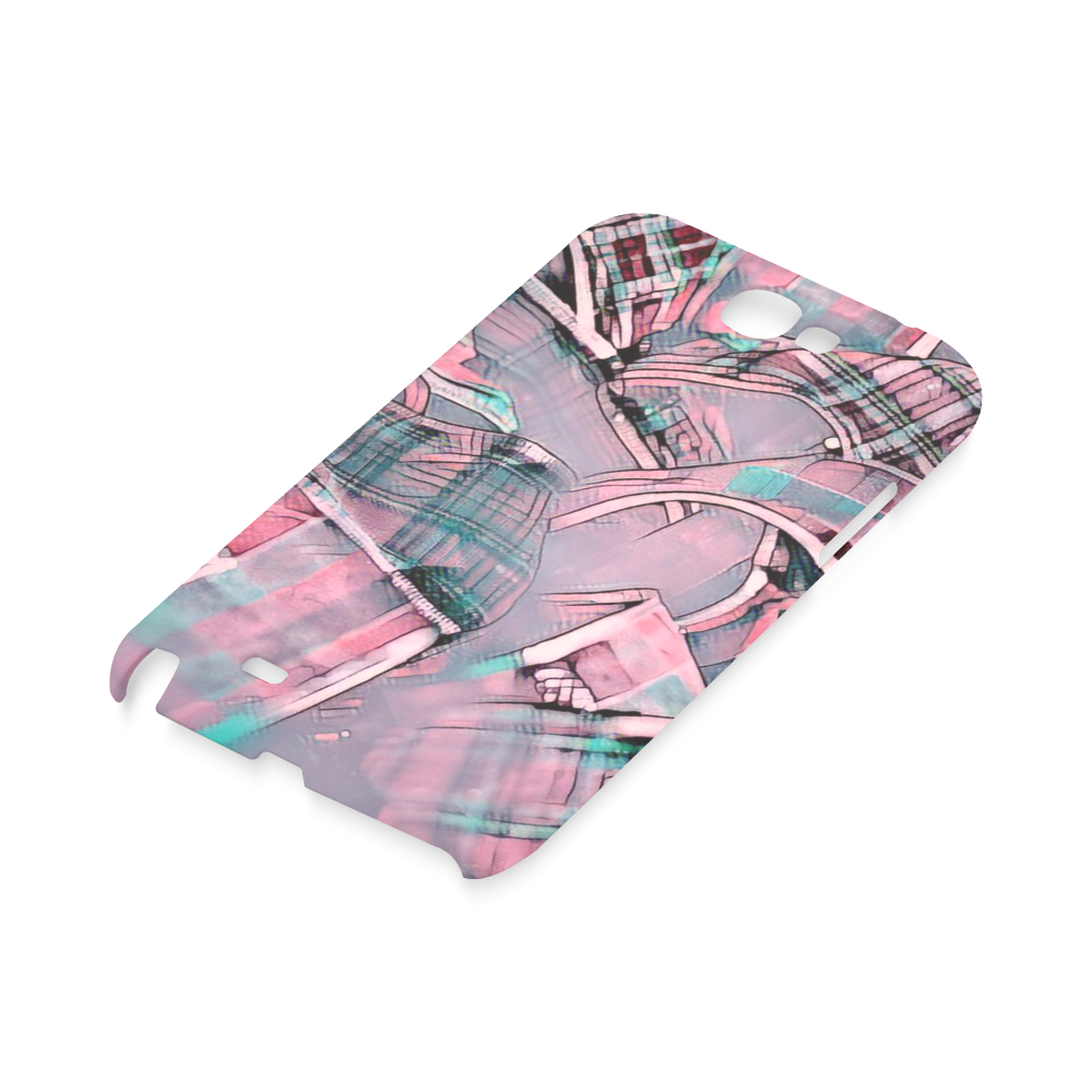 another modern moment, pink by FeelGood Hard Case for Samsung Galaxy Note 2