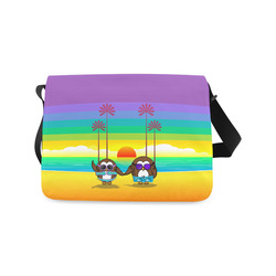 owls are back to vacations! Messenger Bag (Model 1628)