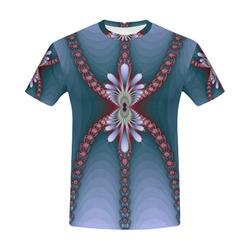 Fractal fantasia 29 mens tshirt All Over Print T-Shirt for Men (USA Size) (Model T40)
