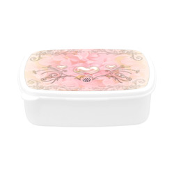 Hearts, soft colors Children's Lunch Box